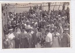 "PHOTO SUPERTRANSATLANTICO ""REX""  1938 VITA DI BORDO  2 SCANNER -2-0882-26927-926 - Paquebots"