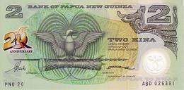 PAPOUASIE-NOUVELLE-GUINEE      2 Kina   Non Daté (1995)    Pick 15  Polymer  *****BILLET  NEUF***** - Papua New Guinea