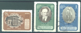 URSS - 1951 USED/OBLIT. - KALININ - Mi 1570-1572 Yv 1553-1555 -  Lot 15223