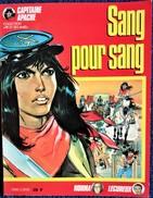 """Capitaine Apache N° 5 - Sang Pour Sang - Collection """" Pif Et Ses Amis """" - Éditions Vaillant - ( Oct. 1986 ) . - Bücher, Zeitschriften, Comics"""