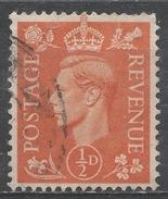 Great Britain 1951. Scott #280 (U) King George VI * - 1902-1951 (Rois)