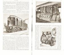 LA NOUVELLE LOCOMOTIVE ELECTRIQUE De M .J.J HEILMANN  1898 - Railway