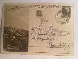 FI,COLLEZIONE,STORIA POSTALE,CARTOLINA POSTALE,POST CARD,VIAGGIATE,ITALIA,ITALY,CALABRIA,REGGIO CALABRIA - Reggio Calabria