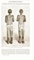 UNE STATUE PRECOLOMBIENNE EN TERRE CUITE  1898 - Archéologie