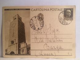 FI,COLLEZIONE,STORIA POSTALE,CARTOLINA POSTALE,POST CARD,VIAGGIATE,ITALIA,ITALY,TOSCANA,LUCCA,BARGA - Lucca