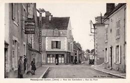 CPA - 45 - MEUNG-SUR-LOIRE - Rue Des Cordeliers - Rue Du Pont - Autres Communes