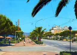 Marina Di Carrara - Viale Littoraneo - 12-22 - Formato Grande Viaggiata – E1 - Carrara