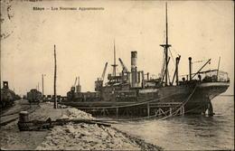 33 - BLAYE - Port - Bateau - Blaye
