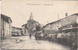 "1917 Art Sur Meurthe "" La Grande Rue ""  ( Vers Linas ) - Nancy"