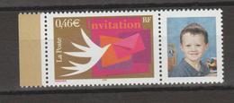 FRANCE / 2002 / Y&T N° 3479A ** (vignette Photo) : Invitation - Gomme D´origine Intacte