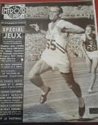 Miroir Des Sports N° 602 26 Novembre 1956 Spécial JO Melbourne Vladimir KUTS (10000 M) Bobby Morrow (100 M) - Sport