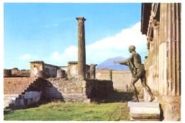 Napoli - Lotto 2 Fotografie POMPEI: TEMPIO DI APOLLO, VILLA DEI MISTERI DANZA DI UNA BACCANTE - PERFETTA N33 - Riproduzioni