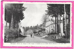 ROSSIGNOL - Belgique - Entrée Du Village Et Stèle érigée - Ernest PSICHARI 1914