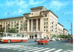 """N°42050 GF -cpsm Autocar Et Hôtel """"smolensk"""" En Russie- - Buses & Coaches"""