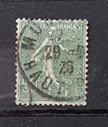 YT198 - 50c Type Semeuse Lignée - Oblitéré - Olive