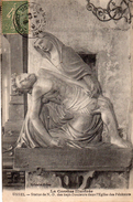 USSEL - Statue De Notre Dame Des Sept Douleurs Dans L'Eglise Des Pénitents - Ussel