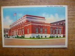 états-unis , Post Office , Lewiston , Maine - Lewiston