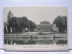 10 - NOGENT SUR SEINE - LA TOUR ET LA HALLE - DOS SIMPLE - TRES BEL ETAT - Nogent-sur-Seine