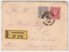 Jungbunzlau, 1888, Früher Reko! , #7508