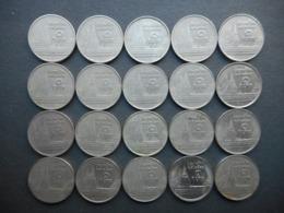 Thailand 1,5,10 Baht 1962-1998 (Lot Of 44 Coins) - Thaïlande