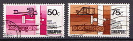 Singapore Used Stamps