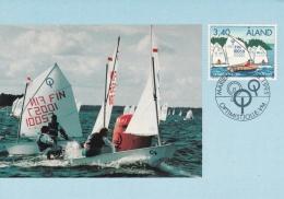 Aland Maxicard 1995 Sailing (T8A3)