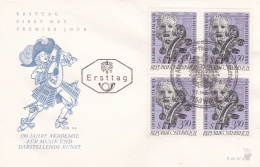 Austria FDC 1970 150 Jahre Akademie Für Musik (T8A3)