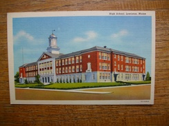 états-unis , High School , Lewiston , Maine - Lewiston