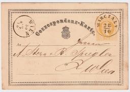 "1870, Ungarn-Stp. "" MARLZALY "", #7510"