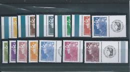 """FRANCE - ANNEE 2008 - Les 15 Timbres Personnalisés """"Cérès"""" De La Feuille F 4226A - Personalized Stamps"""