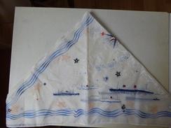 Foulard   French Line Compagnie GénéraleTransatlantique - Hoofddoeken En Sjaals
