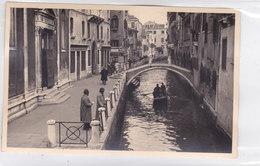 CARD PHOTO VENEZIA RETRO SCRITTO MANUALMENTE  1935     -FP-V-2-0882-26939 - Venezia (Venice)