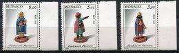 1687 - MONACO  N°2011 / 13 **  Noel   Santons De Provence  1995  SUPERBE - Ungebraucht