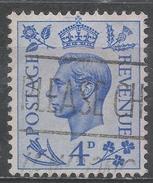 Great Britain 1950. Scott #285 (U) King George VI * - 1902-1951 (Rois)