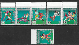La Libye Neufs Sans Charniére, MINT NEVER HINGED, WORLD CUP FOOTBALL CHAMPIONSHIP, MEXICO 1 ST ISSUE