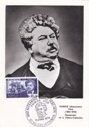Carte Maximum FRANCE N° Yvert 1628 (Alexandre DUMAS) Obl Sp Ill 1er Jour - Cartas Máxima