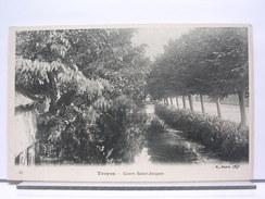 10 - TROYES - COURS SAINT JACQUES - DOS SIMPLE - TRES BEL ETAT - Troyes