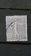 YT200 - 60c Type Semeuse Lignée - Oblitéré  - Lilas