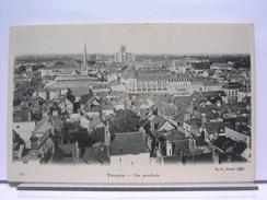 10 - TROYES - VUE GENERALE - DOS SIMPLE - TRES BEL ETAT - Troyes