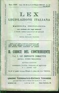 LEGISLAZIONE ITALIANA - Aprile Maggio 1938 - Decreti & Leggi