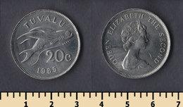 Tuvalu 20 Cents 1985 - Tuvalu