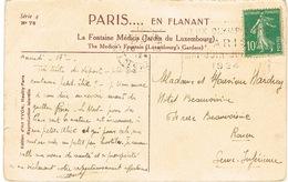 O.MEC FLIER PARIS 117 RUE DES HALLES JEUX OLYMPIQUES PARIS 1924 SUR CPA