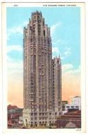 (Etats-Unis) IL 035, Chicago, Max Rigot 437, The Tribune Tower - Chicago