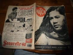 1939 MATCH: Gestapo Et Torture Des Résistants;Hitler;Histoire De La Photographie ;Alain Gerbault;Combat VAMPIRE-COBAYE - Magazines & Papers