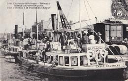 île D'Oléron Autrefois Reproduction Bateaux Faisant La Traversée Pour L'île D'Oléron à La Pointe Chapus - Ile D'Oléron