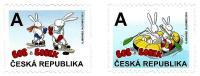 Czech Republic - 2015 - Bob And Bobek Sporting - Mint Self-adhesive Booklet Stamp Set - Tsjechië