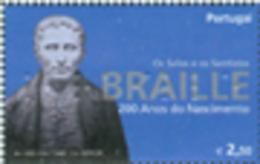 PORTUGAL 2009 - Louis Braille - 1 V.