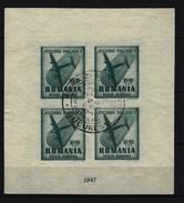 RUMÄNIEN - Kleinbogen Mi-Nr. 1100 Balkanspiele Gestempelt