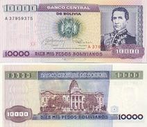 Billete Bolivia. 10.000 Pesos 10-2-84. (ref. 6-780) - Bolivia