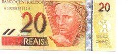 Billete Brasil. 20 Reais. (ref. 6bra-20) - Brasil